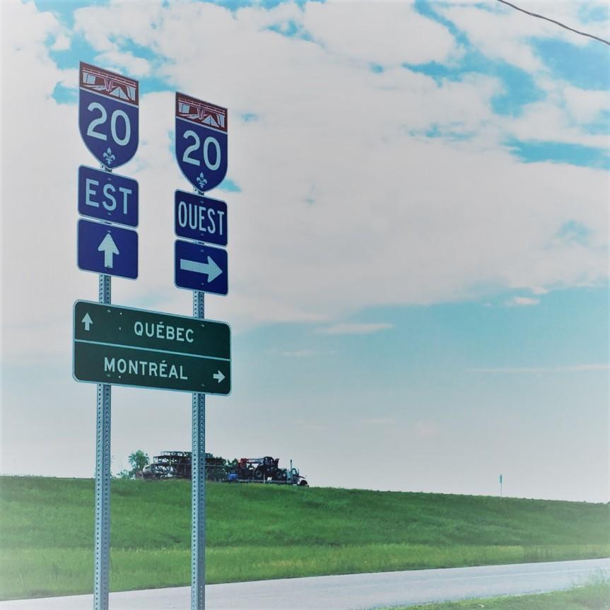 Truck Stop le long de la20
